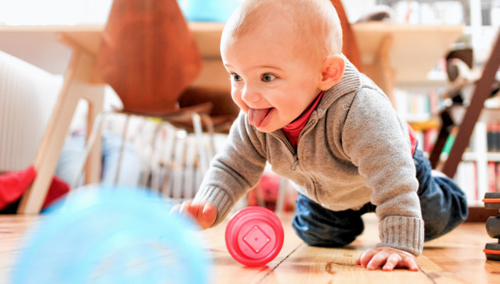 Die erste Zeit ist oft anstrengend – Elternkurse helfen. Foto: DKSB/Susanne Tessa Müller