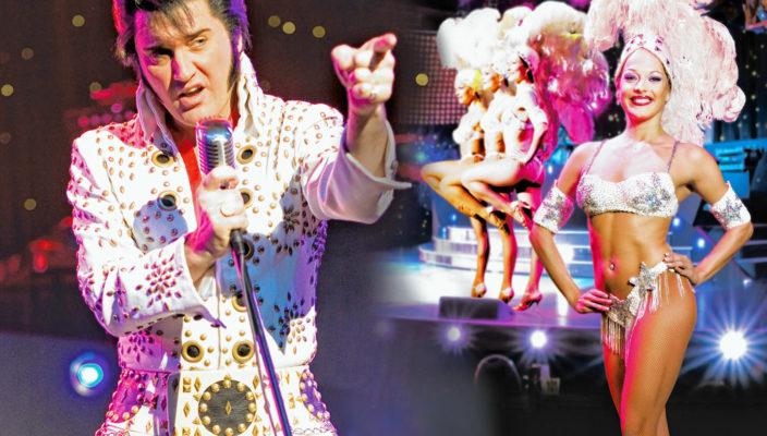 Verblüffend nah am Original: Elvis-Darsteller Grahame Patrick bei seiner Show. Foto: Stars in Concert