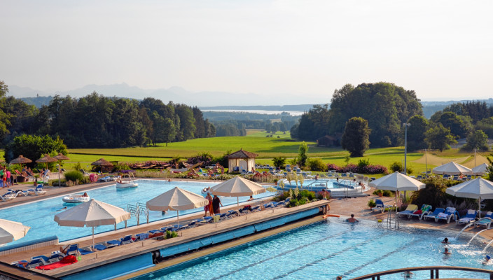 Die Chiemgau Thermen. Foto: Chiemgau Thermen Bad Endorf