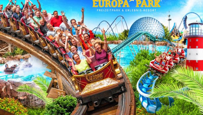 Im Europa-Park ist gute Laune garantiert!