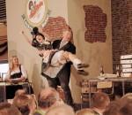 Jutta Schmidt vom TAM-Ost bot eine sensationelle Tanzdarbietung.