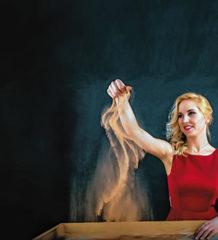 Einzigartig und fantasievoll: Die Sandmalerei-Show.