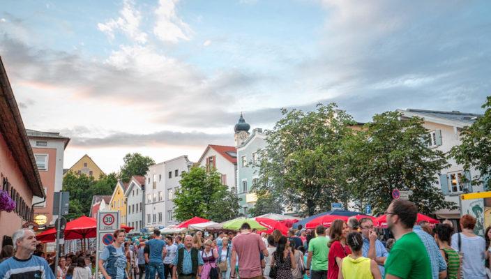 Beim Aiblinger Bürgerfest gibt es ab 14 Uhr eine große Auswahl an Aktivitäten für Jung und Alt.