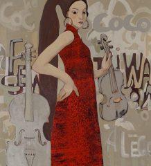 """Festival"" von Aldona Sassek."