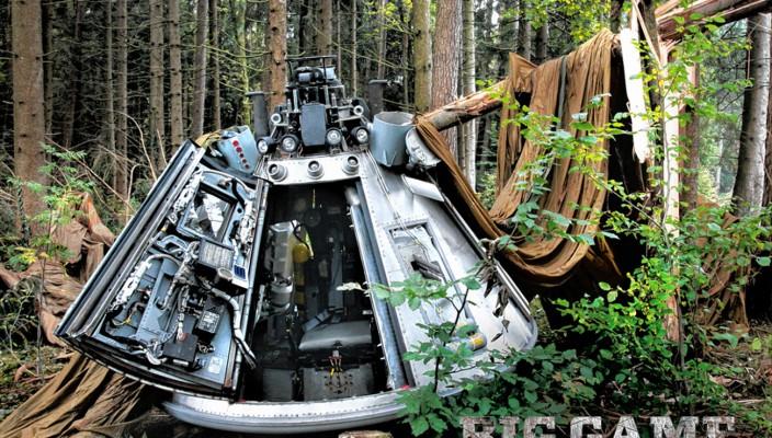 """Die Rettungskapsel aus dem Film """"Big Game"""" ist auch zu sehen. Foto: Bavaria Film/Ana Djurasovic"""