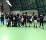 Das Team von Hit Squad Rosenheim mit Sponsor Florian Deutsch, stehend Dritter von links.