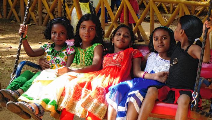 """Sicher und geborgen können sich die Mädchen in dem Haus von """"Kinder Indiens"""" fühlen."""