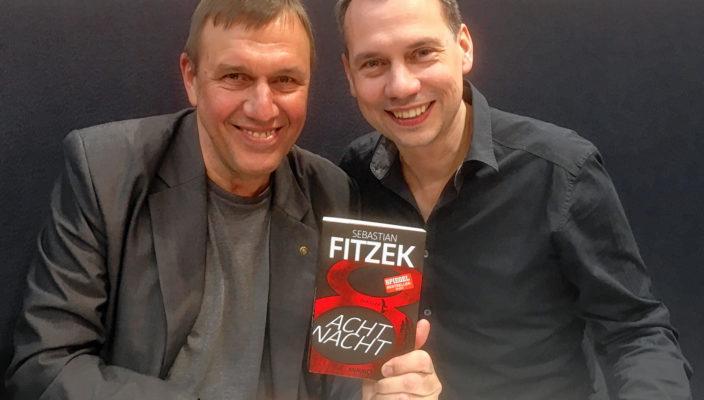 Klaus G. Förg im Gespräch mit dem Autor Sebastian Fitzek.