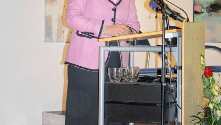 Großen Respekt zollten die Grußredner Oberbürgermeisterin Gabriele Bauer...