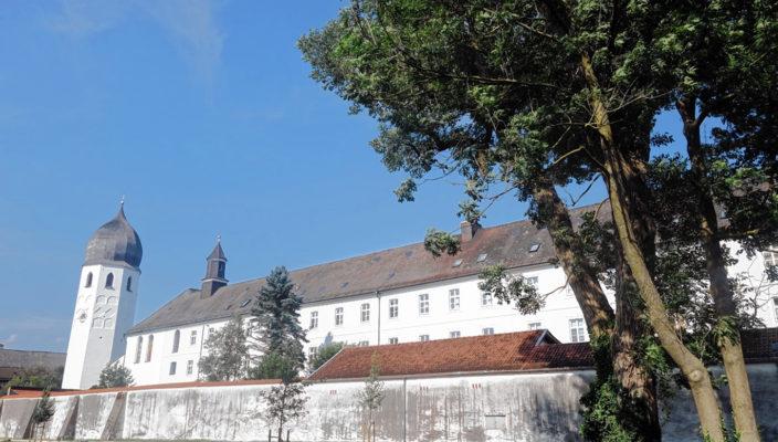 Das schöne Kloster Frauenchiemsee. Foto: hö