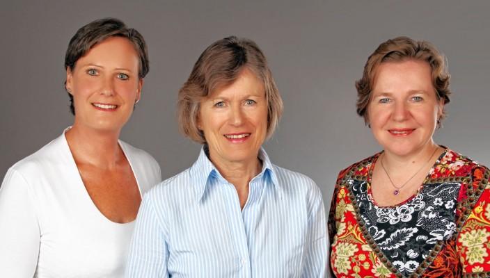 Diese drei Frauen bilden derzeit den Vorstand des Vereins: Christiane Cremer, Christiane Bierner und Christina Dietz (von links).