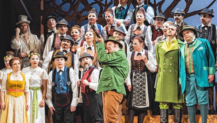 Viele bekannte Opernmelodien erklingen am Silvesterabend im KU'KO.