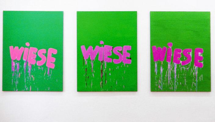 """Eines der """"Wiese""""-Bilder von Andreas Pytlik."""