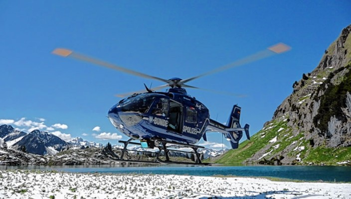 Rettungseinsätze im Gebirge müssen geübt werden.