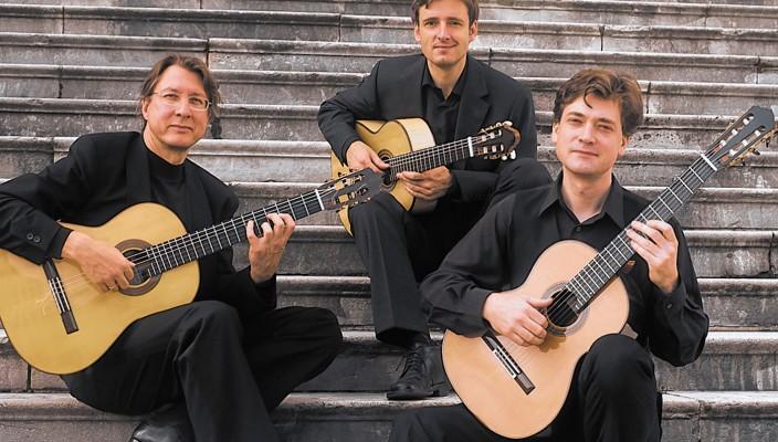 Das Münchner Gitarrentrio gastiert am 22. Februar in Rosenheim.