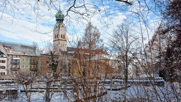 Rosenheim hat viel zu bieten, auch im Winter. Foto: Peter Schlecker