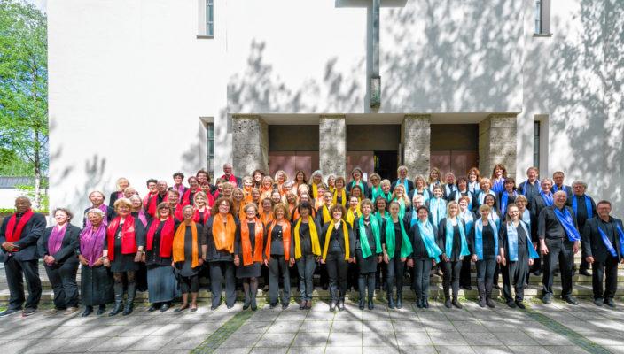 Die Rosenheimer Gospelsingers zieht es in diesem Jahr nach Kolbermoor.