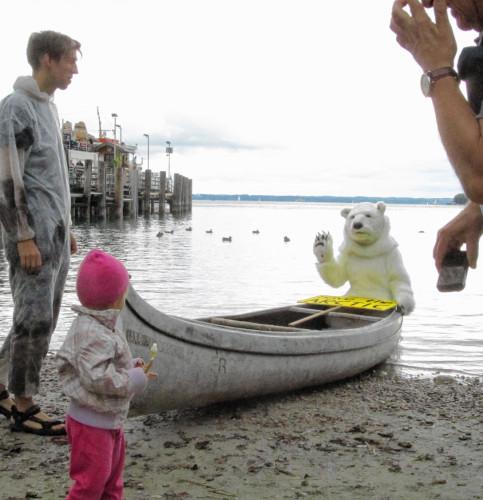 Muss der Eisbär bald Abschied von seiner Heimat, der Arktis, nehmen?