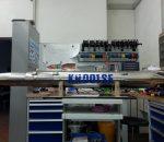 Einer den beiden neuen Generatoren in der Werkstatt.