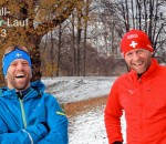 Klaus Meyer und Albert Hager (rechts) organisieren den Mangfall-Silvester-Lauf.