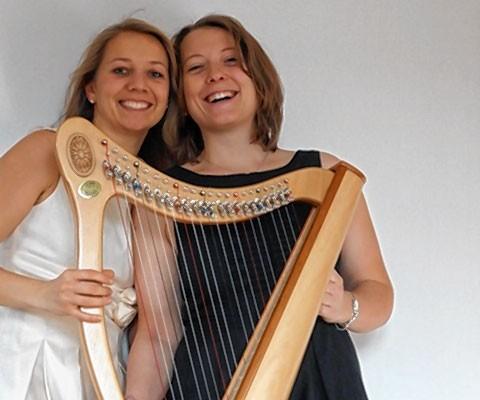 Die beiden Musikerinnen spielen am kommenden Samstag in Rosenheim.