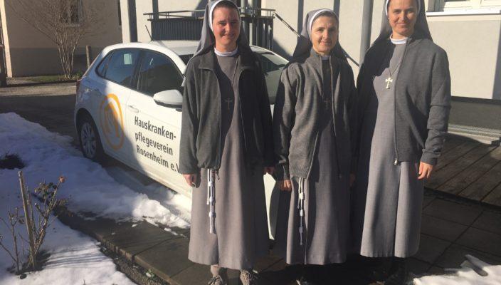 Von links: Sc. Tatjana, Sc. Clara und Sc. Christiana.