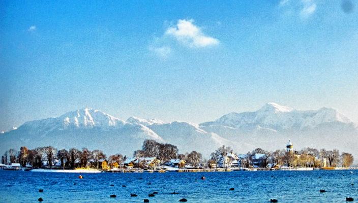 Ein strahlender Winterag verzaubert die Insel. Repro: Heuser