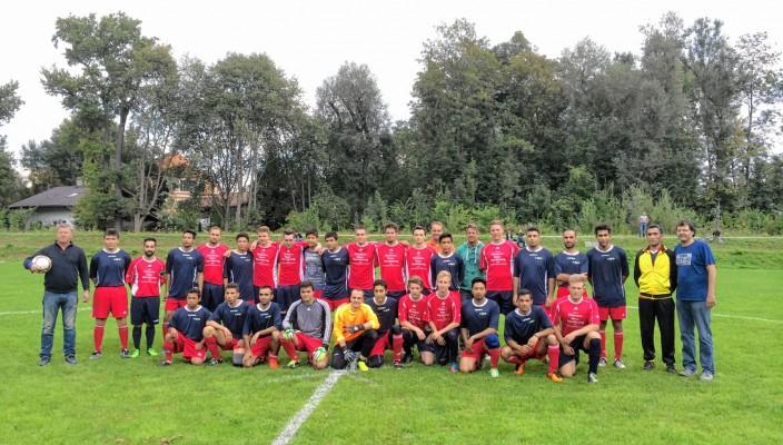 Fußball verbindet – das ist auch in Rosenheim spürbar.