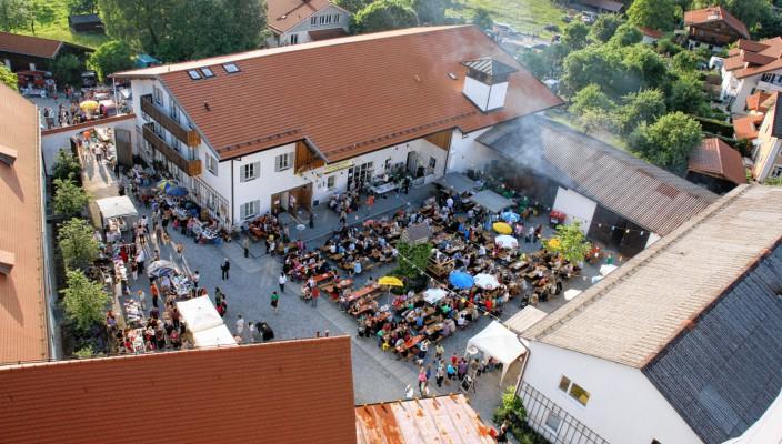 Die Hubertusschützen freuen sich auf viele Besucher.