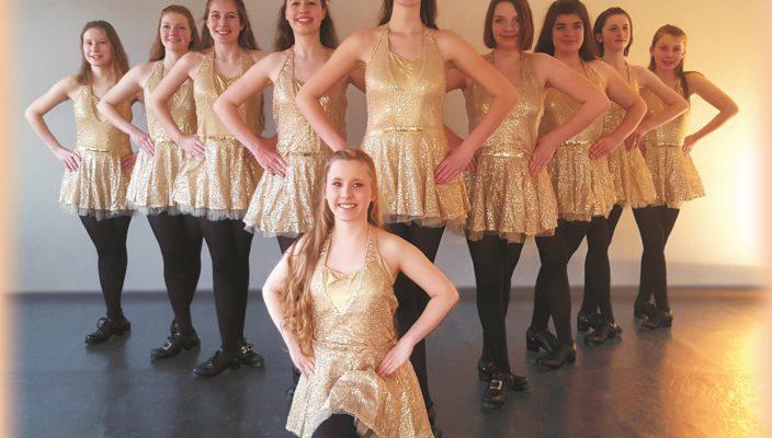 """""""The Ivy Leaf"""" zelebrieren den irischen Tanz, bereichert um moderne Elemente und Formationen."""
