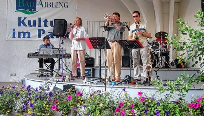 """""""Jazzica"""" war schon oft zu Gast bei Kultur im Park."""