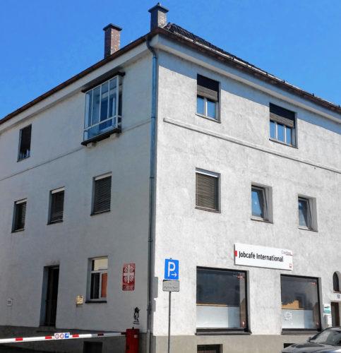 Das Jobcafé International in der Papinstraße.