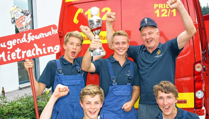 Das Siegerteam aus Mietraching. Foto: hö
