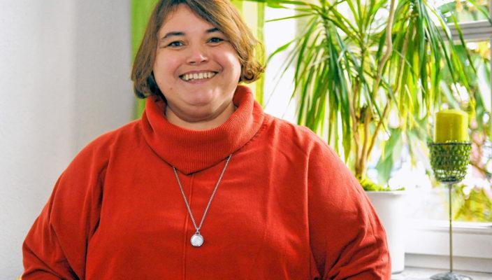 Jugendschuldnerberaterin Sandra Schergen hilft Leuten im Alter von 18 bis 25 Jahren.