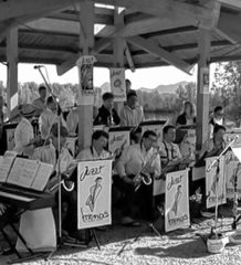 Beschwingte Musik beim Big-Band-Treffen.