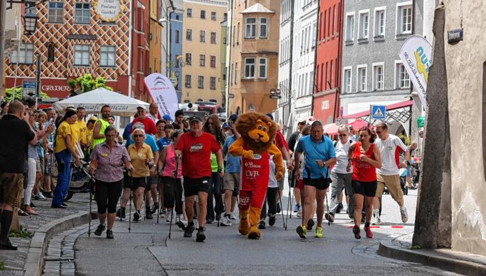 Die Teilnehmer dürfen sich auf eine attraktive Laufstrecke rund um die Wasserburger Altstadt freuen.