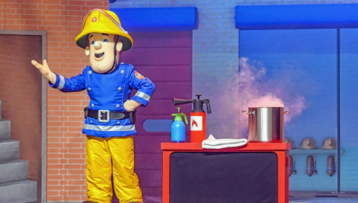 Tolle Abenteuer erleben mit Feuerwehrmann Sam.