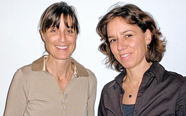 Edith Kaltenbrunner und Rita Prijon.
