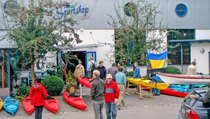 An der Innlände 6 findet der Flohmarkt der Kanuten statt.