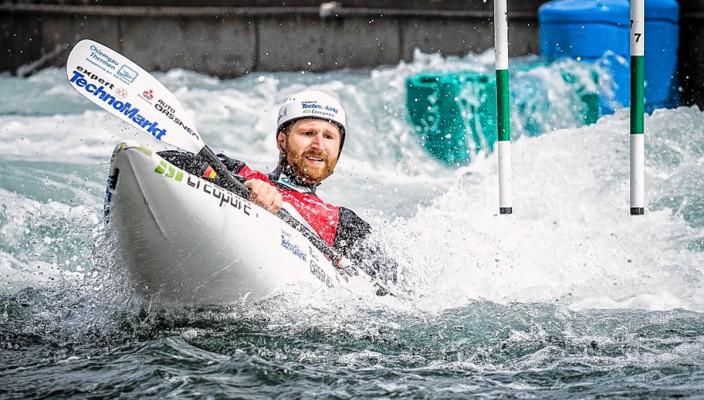 Tobias Kargl war zufrieden mit seiner Leistung.