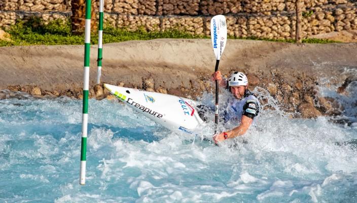 Optimale Trainingsbedingungen für Tobias Kargl.