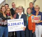 Freuen sich über den großen Erfolg beim achten Karstadt-Bücherflohmarkt (von links):