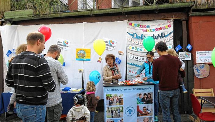 35 Jahre Kinderschutzbund waren Grund zum Feiern!