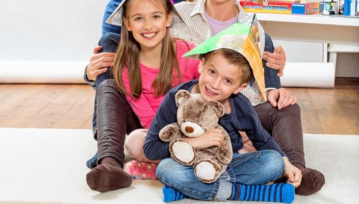 Alle haben einen Hut auf, es bestimmen aber die Kinder!