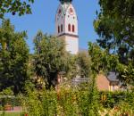 Vom Kirchturm der Stadtpfarrkirche aus bietet sich ein herrlicher Blick über Rosenheim und die Umgebung.