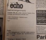 Vor 40 Jahren waren es 1,40 DM, nun sind's 70 Cent – viel Spaß beim Verkaufen!
