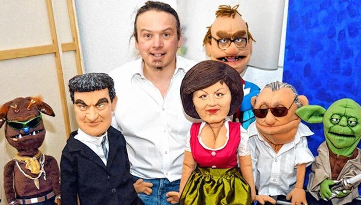 Joe Heinrich und seine Puppen sorgen für einen amüsanten Abend.