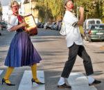 """Wollen doppelt Freude bereiten: """"Fräulein Lilo Musi"""" und """"Dr. Pipo"""", alias die """"KlinikClowns""""."""