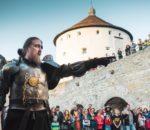 Es gibt kaum eine eindrucksvollere Kulisse für das Ritterfest, als die Festung in Kufstein.