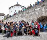 Auf ins Getümmel auf der Kufsteiner Burg! Foto: Peter Seger/www.actioncam-chiemgau.de